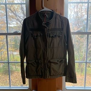 Free People Army Green Coat